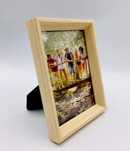 Room Essentials 5x7 Bevel Wedge Natural Wood Photo Frame Target Brands