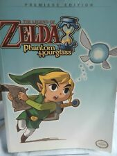 The Legend of Zelda Phantom Hourglass (DS) Strategy Guide Premiere Edition -