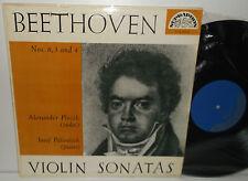 SUA 10149 Beethoven Violin Sonatas Nos 3,4&8 Alexander Plocek & Josef Palenicek