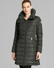 Moncler Flamme Charcoal Coat Jacket size 1 Small $1295 100% NEW & AUTHENTIC