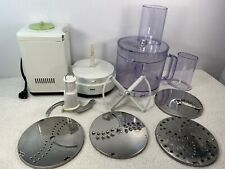 Braun  Food Processor 4259 Germany Many Accessories Tested Read Description
