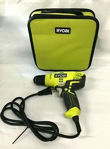 Ryobi D43K 5.5 Corded 3/8 Inch Variable Speed Compact Drill/Driver GR
