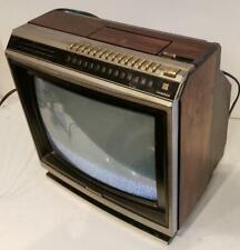 Panasonic CTF-1311 Woodgrain CRT TV Colorpilot Electrotune Retro Gaming 1985