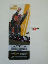 2016 Indianapolis 500 100TH Running Ticket Plastic Credential Juan Pablo Montoya