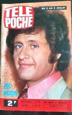 ►Télé Poche 29/06/1977; Joe Dassin/ Roman-Photos avec Jean Claude Pascal