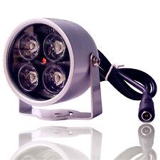 4 Array IR LED Illuminator Light CCTV IR Infrared Night Vision for Surveillance