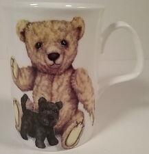 Dusty Bear Lost in Attic Needs Home Porcelain Tea Mug English Bone China Kirkham