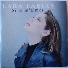 LARA FABIAN (CD single)  SI TU M'AIMES
