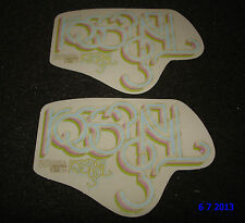 2 AUTHENTIC ROSSIGNOL SONAR PROMO STICKERS #14 DECALS AUFKLEBER