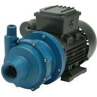 CHEMICAL PUMP-  Polypropylene - 1/4 HP - 115V - 1 Ph - 21 GPM - Magnetic Drive