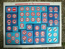Affiches Panneaux plastifier Auto Ecole