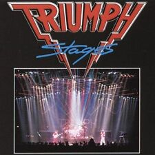 Triumph, Stages, Excellent Original recording remastered
