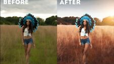 Professional Photo Editing Retouching Restoration Natural to Full Glam and Body