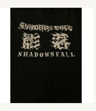 shadows fall vintage tshirt of one blood tour 2002 metalcore used xl