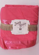 pottery barn teen junk gypsy full bed skirt - Pink