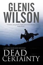 Dead Certainty by Glenis Wilson (2015, Hardcover)