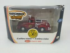 MATCHBOX COLLECTIBLES 50 YEARS 1953 FORD F-100 FIRE TRUCK