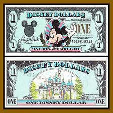 "Disney 1 Dollar, 1990 Series ""AA"" Disneyland Uncirculated"