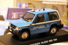 1:43 Mitsubishi Pajero 1998 Special Issue #4 Police Cars of the World + Magazine