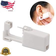 Professional Steel Ear Nose Navel Body Piercing Gun 1pcs Studs Tool Kit Set