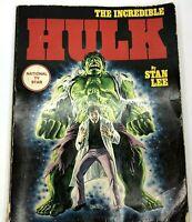 1978 The Incredible Hulk Book Stan Lee Marvel Comics Marvel mania Vintage Rare