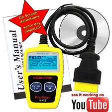 Vauxhall Car Fault Reader Code Scanner Diagnostic Tool OBD 2 CAN CANBUS OBDII UK