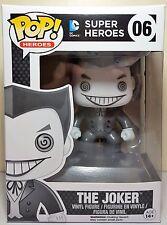 Funko Pop The Joker Black and White # 06 DC Comics Exclusive Vinyl Figure
