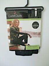 Cuddl Duds womens Softwear with stretch leggings size Medium black