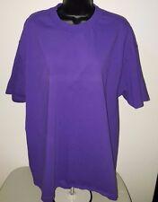 Alstyle Apparel Men's Purple Short Sleeve T-Shit Size XL