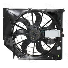 For BMW E46 325i Engine Cooling Fan Assembly Four Seasons 76283