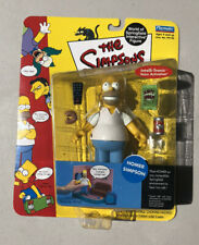 The Simpsons World of Springfield HOMER SIMPSON New Playmates 2000 Series 1