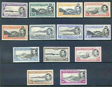 Ascension 1938 Definitives perf. 13½ complete to 10sh mint  (2014/10/21/#09)