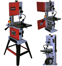 """10"""" Professional Woodworking Bandsaw with Cast Table Solid Fence & Blade 240v"""