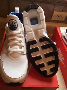 NEW IN BOX Nike Men's Air Max Prime White/Blue/Grey 876068-101 MSRP $110