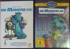 Die Monster Uni und Die Monster AG Neu DVD Disney