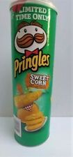 PRINGLES SWEET CORN FLAVORED POTATO CHIPS 5.5 OZ NEW LIMITED EDITION