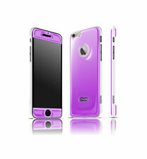 Exofab - iPhone 6 Gel Purple Case Cell Phones Hands Free Selfies: Opera White