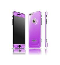 Exofab - iPhone 6 Gel Purple Case Cell Phones Hands Free Selfies: Opera White