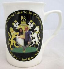 HRH Princess Charlotte of Cambridge Mug Bone China Royal Couple Collectors Mug