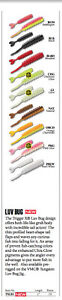 RAPALA VMC TRIGGER X 1 inch LUV BUG - Variety of Colours 15pcs per package