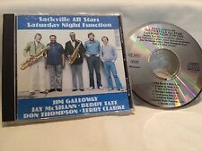 The Sackville All Stars -Saturday Night Function, CD made in Canada, no bar code