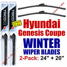 WINTER Wiper Blades 2-Pack - fit 2009-2014 Hyundai Genesis Coupe - 35240/35200