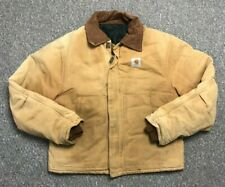 Mens Carhartt Field Jacket Coat Workwear Harrington Chest 44-46 Size M Medium