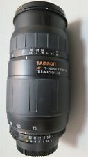 #S Tamron AF 75-300mm f/4-5.6 LD Tele-Macro(1:3.9) Lens B+W 62mm UV-Haze Filter