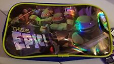 Nickelodeon Teenage Mutant Ninja Turtles Pencil Case New 2013