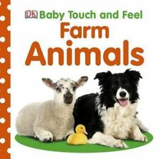 Baby Touch and Feel Farm Animals (BABY TOUCH & FEEL)-ExLibrary