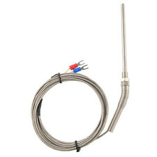 Professional 3M Thermocouple Cable K type Probe Sensor High Temperature