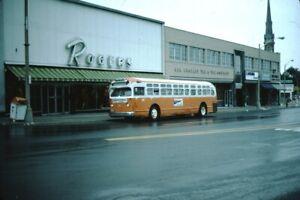 GM Old Look Bus Kodachrome original Kodak Slide
