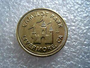 Camelot Park Livermore California McDonald's Token Coin