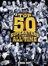 WWE - Top 50 Superstars Of All Time (DVD, 2011, 3-Disc Set) Region 4